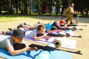 Фортификация, окопы, защитная полоса в играх в детском лагере