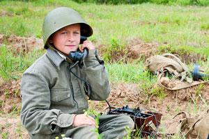 Мастер-класс связь и рации в детском военно-спортивном лагере