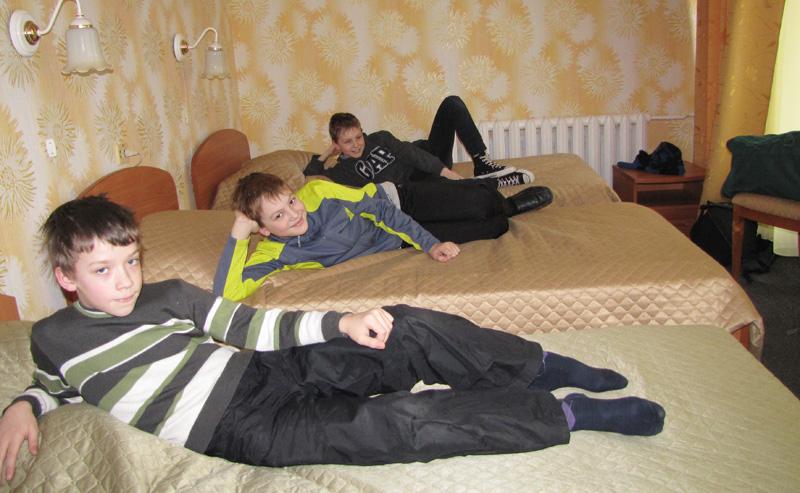 Дети в комнате 3 го корпусе в детском