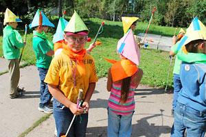 Игра стражи леса в детском лагере